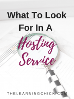 What to Look For in a Hosting Service