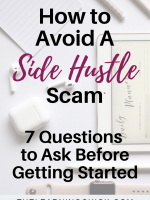 How To Avoid A Side Hustle Scam
