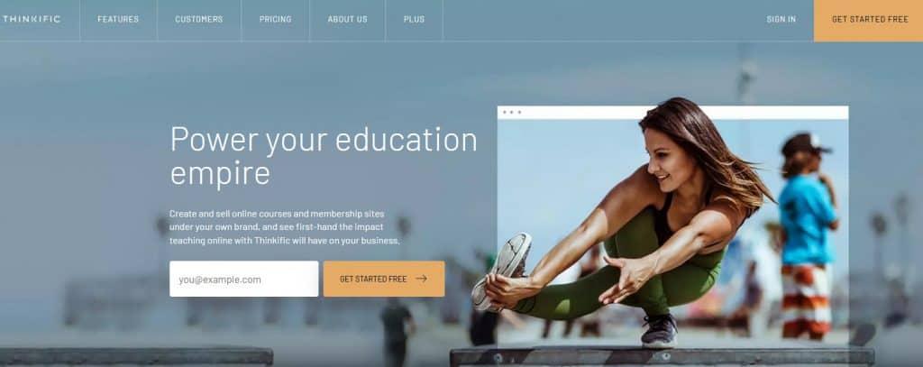 Thinkific Course Platform