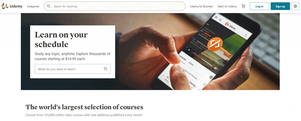 Udemy Learning Platform